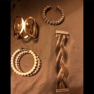 4 Piece Costume Bracelet